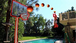 IMPOSSIBLE BASKETBALL TRICK SHOTS CHALLENGE