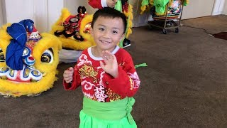 A Day of Lion Dance 舞狮 Performances - 2018 Part 3 [Pagoda]