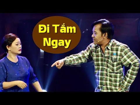 Đến giờ nấu cơm Quang Tèo bắt vợ đi tắm khiến vợ phải kiểm tra đầu óc | Tiểu Phẩm Hài đau ruột