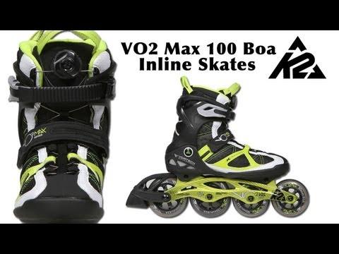 Inline Skates k2 Moto 100 k2 Vo2 Max 100 Boa Inline