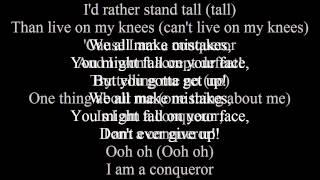 Empire Cast - Conqueror (Lyrics)  Ft. Estelle & Jussie Smollett