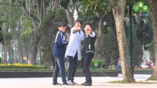 Chết cười với clip của các bạn sinh viên Bách Khoa vs Xây Dựng