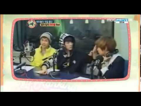 130206 주간아이돌Weekly Idol 마마돌 2위 SHINee key