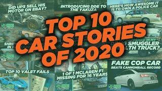 Top 10 Car Stories of 2020