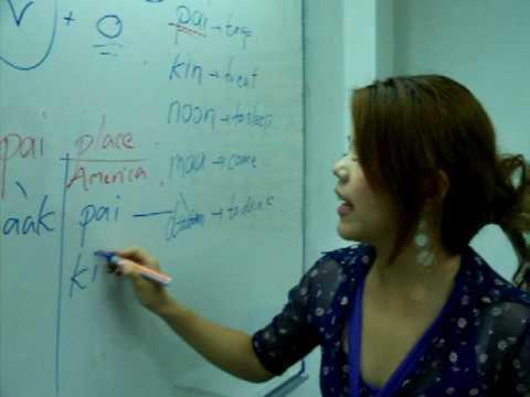 video apprendre le thaïlandais