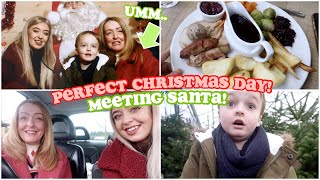 THE PERFECT Christmas Day! MEETING SANTA, ROAST DINNERS & CHRISTMAS CARDS FROM YOU GUYS!