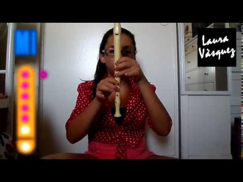 DIGANLE - CORAZÒN SERRANO en flauta dulce  Tutorial