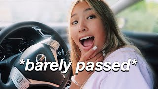 take my DRIVERS TEST with me *pray for me*
