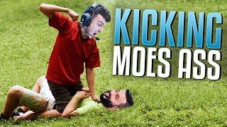 KICKING MOE'S ASS (Rank S)