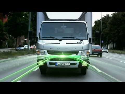 The FUSO Canter Eco Hybrid -- Green light for efficiency