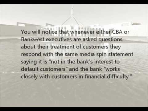 Too Big to Prosecute Pt 8/10 - Bankwest CBA Corruption