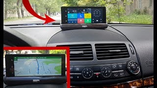 """Dashboard Camera Android 1080P Dual Camera and GPS, 7 """"IPS screen Bluetooth 3G / Detailed review"""