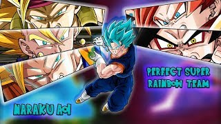 Naraku Dragonball Z Dokkan Battle School - Meta Builder: Perfect Rainbow Super Team Analisys