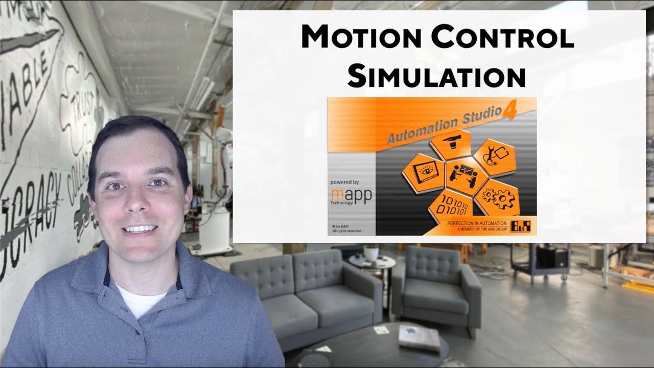 Hello B&R: Motion Control Simulation