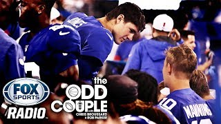 The Odd Couple - Do New York Giants Have a QB Controversy and Is Eli Manning A Hall of Famer?
