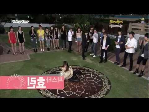 Idol Sexy Dance - SJ(Donghae), SISTAR(HYORIN), 2pm(Nichkhun,Chansung), SECRET(Sunhaw)