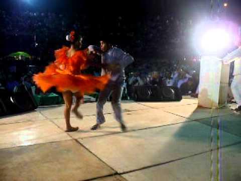 Alejandro Diaz Y Luisa Lara Pareja De Baile 2do. Lugar  Barinas, Panoja De Oro 2011