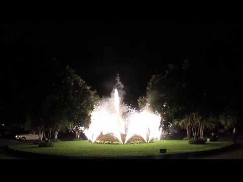 Sparkle Fountain Departure for Circular Drive
