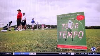 Tour Tempo featured on the Golf Channel