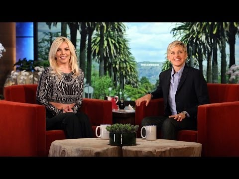 Britney Tells Ellen About a Tiff with the New BF