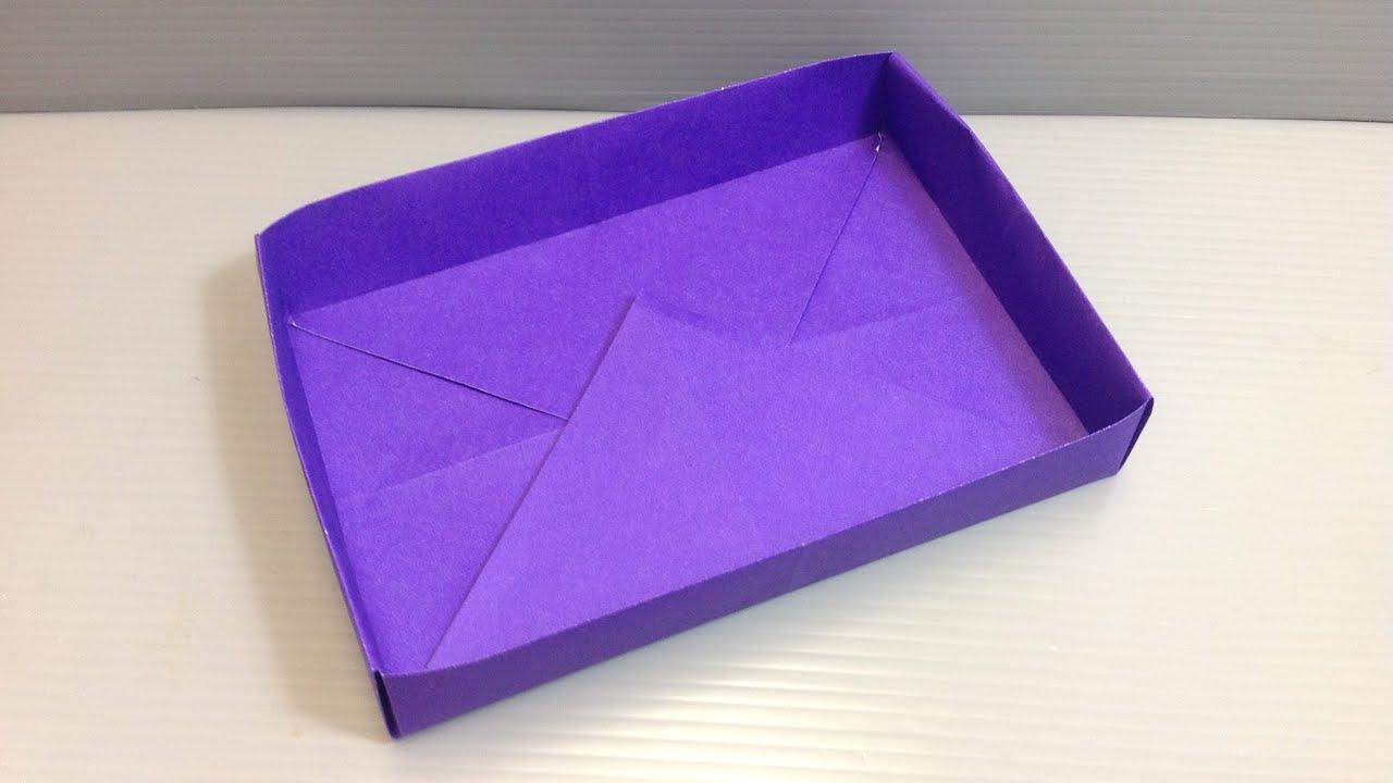 Make ANY SIZE Rectangular Box Origami - YouTube - photo#15