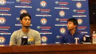 Yu Darvish addresses trade, possible return to Rangers