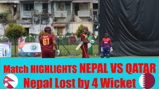 Nepal vs Qatar | Match Highlights