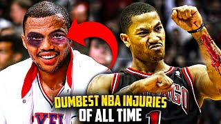 6 DUMBEST NBA INJURIES OF ALL TIME! Ft. Derrick Rose & Charles Barkley Stories
