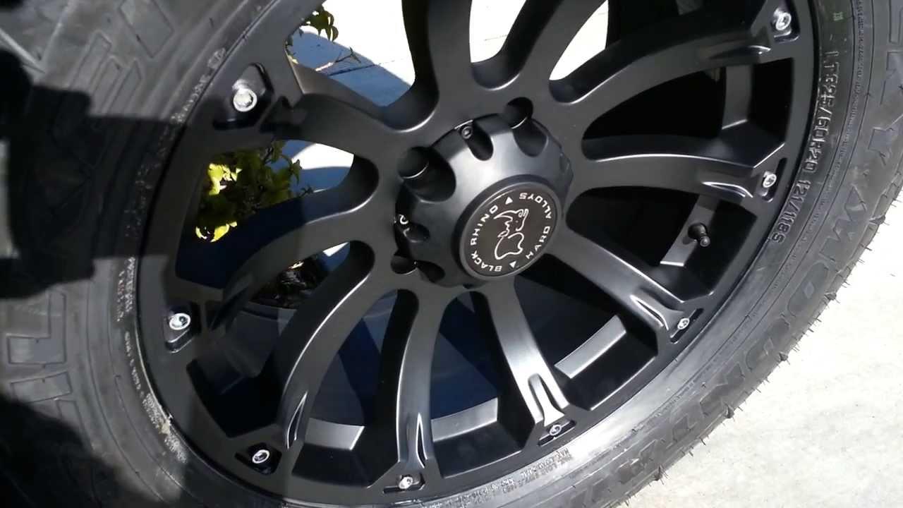 Black Rhino Sidewinder Wheels 20x9 - YouTube