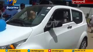 E-car can run upto 120 km for 1-hour charge: HPCL ED..