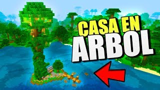 👉 CASA ARBOL MANSION EN MINECRAFT PE 1.7 👈