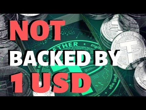 Tether NOT Worth 1 USD REVEALED - Tether USDT Drama Continues