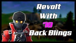 NEW *LEAKED* REVOLT SKIN WITH 70 BACK BLINGS!