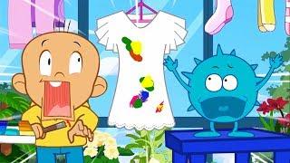 Hoạt hình Đậu Đậu | Tập 2 | Chiếc váy tuyệt đẹp Đậu Đậu trang trí giúp mẹ | DDTV