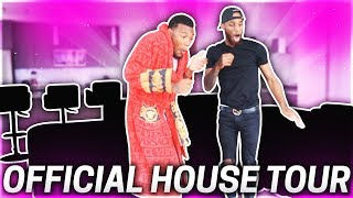 OUR OFFICIAL FURNISHED HOUSE TOUR!!! (WE TURNED OUR HOME  INTO A NIGHT CLUB)