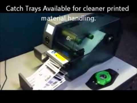 Aalstec Presents Cab A4+ with Rotary Cutter - Printing direct thermal Tag stock