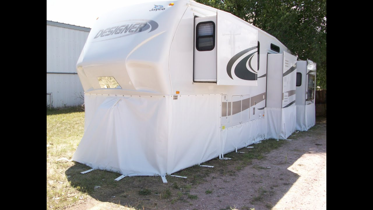 RV Skirting - The Work We Do! at rvskirting.com Winterize ...