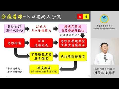 COVID-19 (武漢肺炎) 醫院防疫減災作為