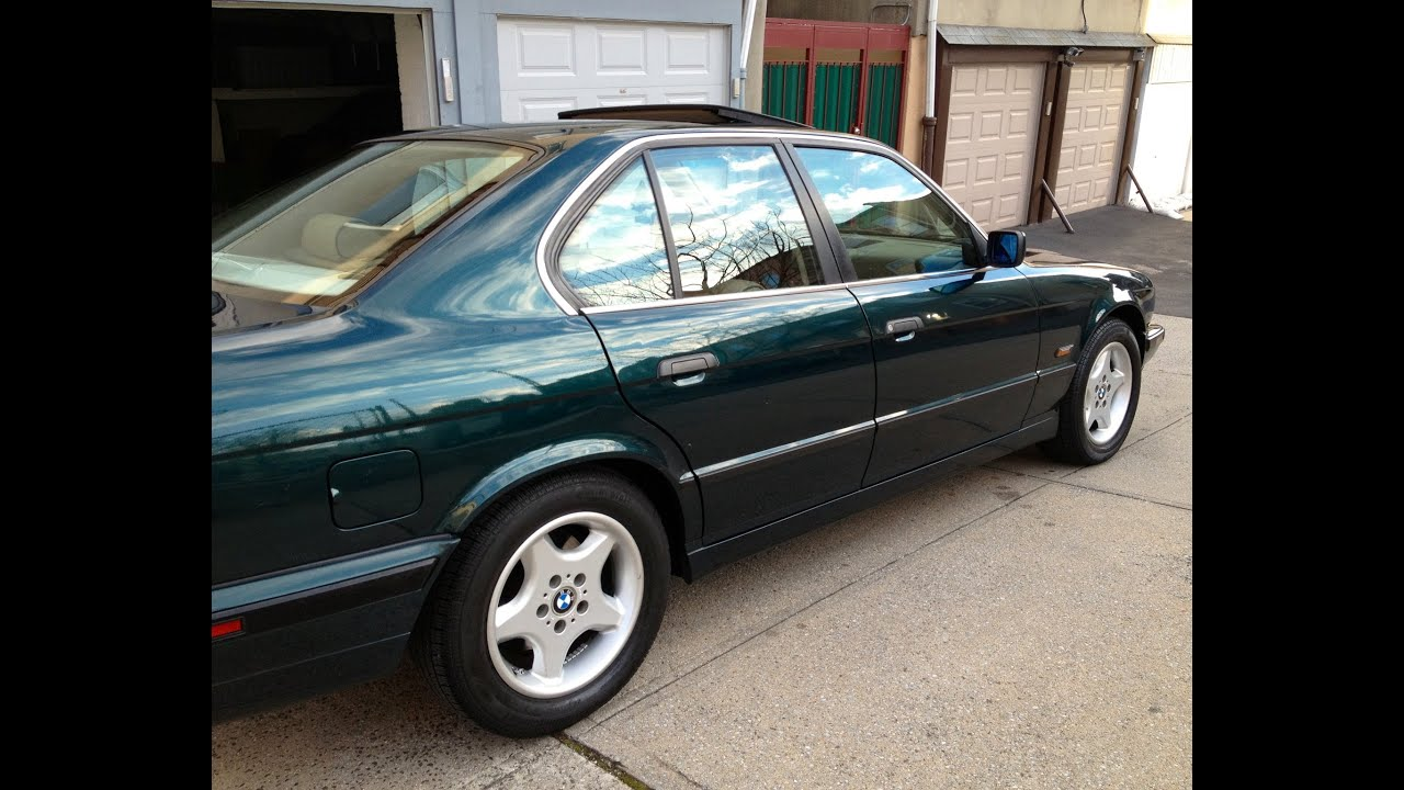 1995 bmw 5 series e34 525i olympic games edition green for sale youtube. Black Bedroom Furniture Sets. Home Design Ideas
