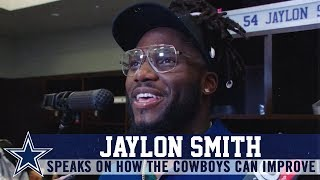 Jaylon Smith: There Is So Much We Can Fix | Dallas Cowboys 2019