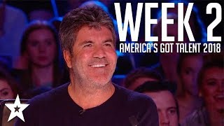 America's Got Talent 2018 Auditions | WEEK 2 | Got Talent Global