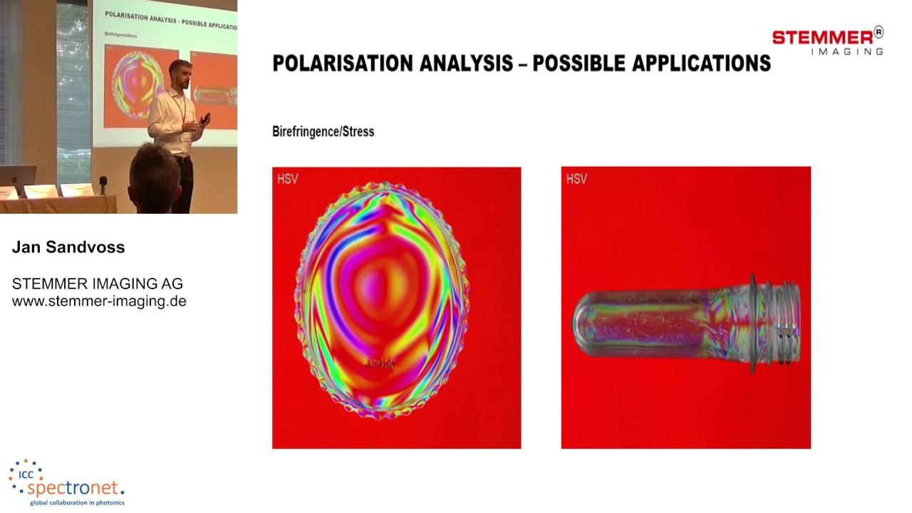 Polarisation des Lichts: Verborgenes sichtbar machen - Technologieforum Bildverarbeitung 2019