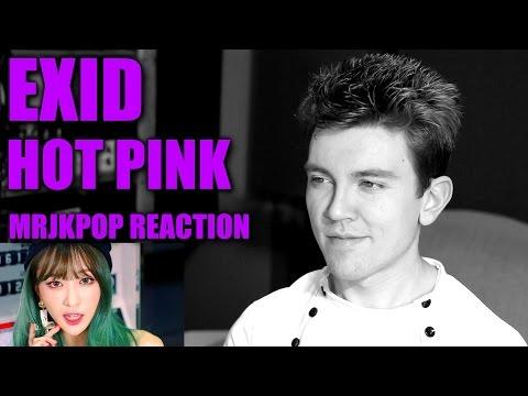 EXID HOT PINK Reaction / Review - MRJKPOP ( 이엑스아이디 핫핑크 )