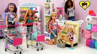 La Familia Barbie Compra Utiles Escolares Miniatura - Los Juguetes de Titi