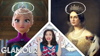 """Fashion Expert Fact Checks Elsa and Anna's Costumes from """"Frozen"""" 
