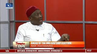 Imo Gov'ship Poll: Steve Asimobi Disagrees As PDP Alleges Okorocha Threatens Returning Officer Pt.1