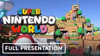 Super Nintendo World - Official Tour with Shigeru Miyamoto
