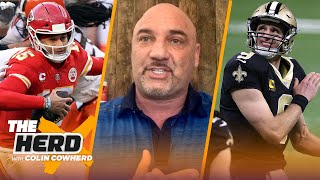 Brees is a part of New Orleans history; talks Mahomes concussion — Jay Glazer | NFL | THE HERD