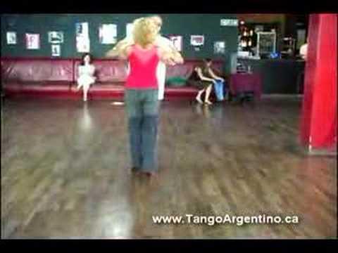 Tango Argentino - clase en El Beso Milonga con Traspie