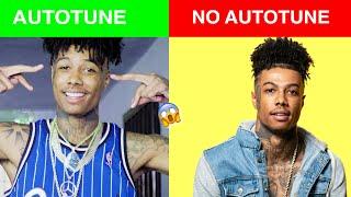 *GENIUS INTERVIEW VS REAL SONG* (Autotune vs No Autotune)
